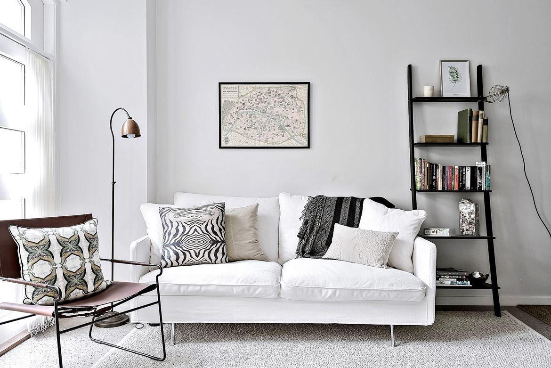 Modern Scandinavian Style Living Room Decor