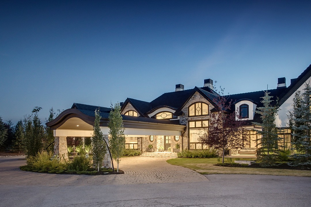 Palatial Country Mansion Near The Foothills Of The
