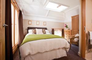 Cozy Modern Bedroom with Skylight