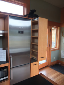 Vertical Kitchen Storage Cupboard