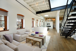 Penthouse Loft Apartment with High Ceilings