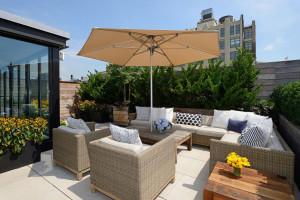 Manhattan Rooftop Terrace