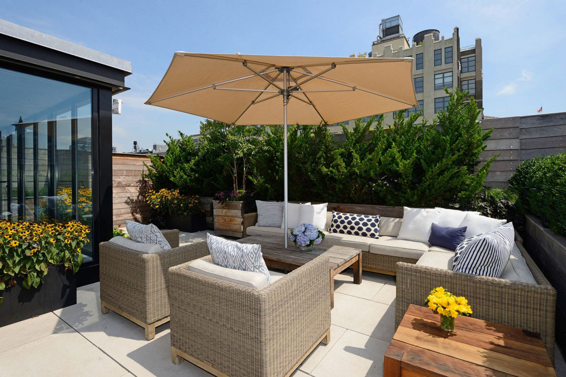 Manhattan Rooftop Terrace