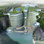 Groundscraper Hotel InterContinental Shimao Shanghai Wonderland