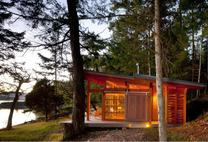 Secluded Oceanside Cabin in the Woods