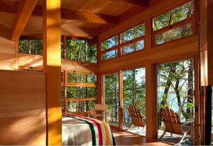 Island Summer Vacation Cabin
