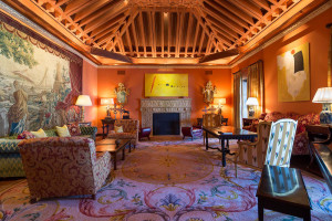 Andalusian-Style Interior Living Room Decor