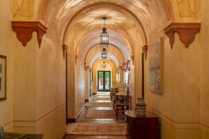 Mediterranean Hacienda Arches