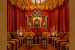 Moroccan-Inspired Sitting Room