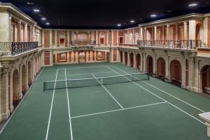 Classical Indoor Tennis Court