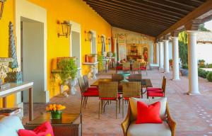 Spanish Hacienda Terrace
