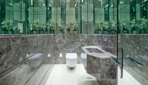 Contemporary Stone Bathroom