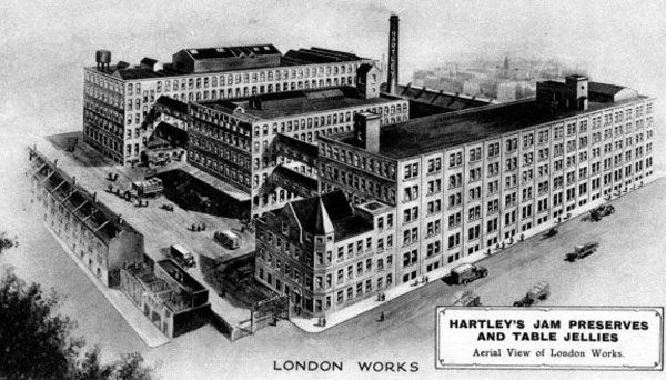 Original Hartley's Jam Factory London