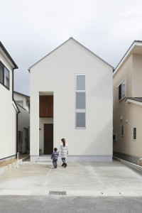 Small Narrow Modern House in Japan