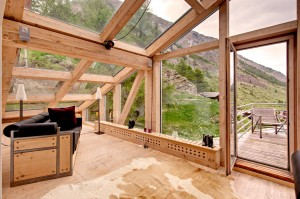 Mountain Chalet Rooftop