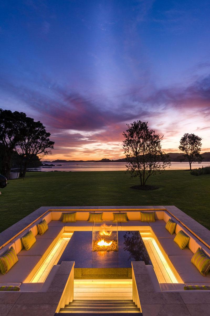 Luxury Sunken Outdoor Fire Pit