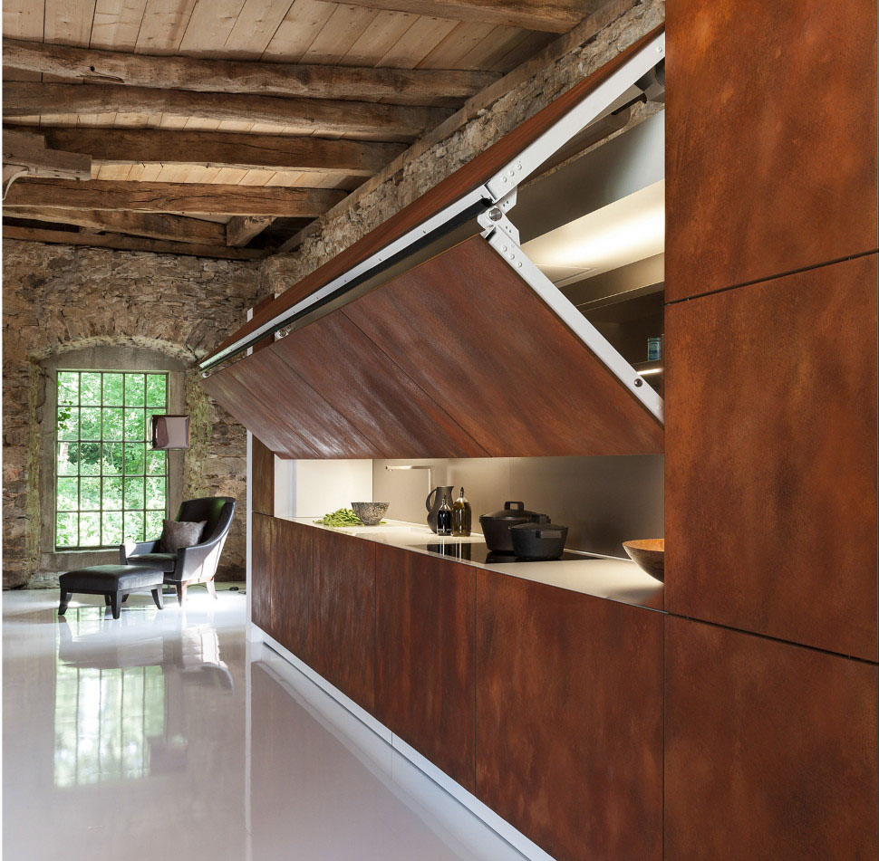 Hidden Kitchen Design & Cool Hidden Kitchen By Warendorf | iDesignArch | Interior Design ...