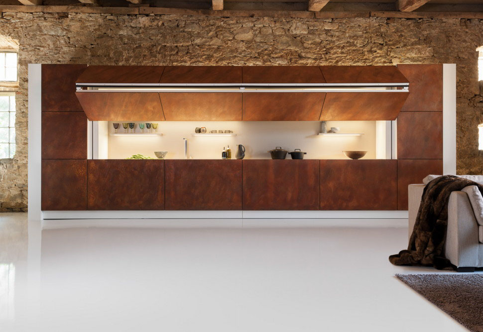 Minimalist Folding Kitchen