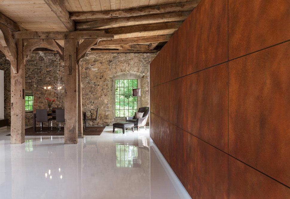 Hidden Panelled Kitchen