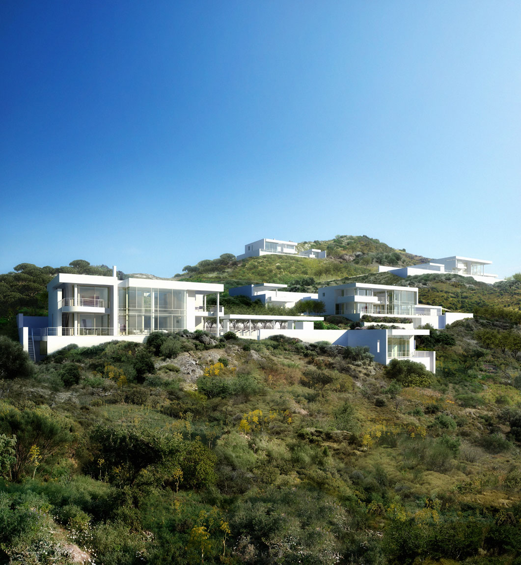 Chimney Hill Apartments: Hillside Houses In Bodrum