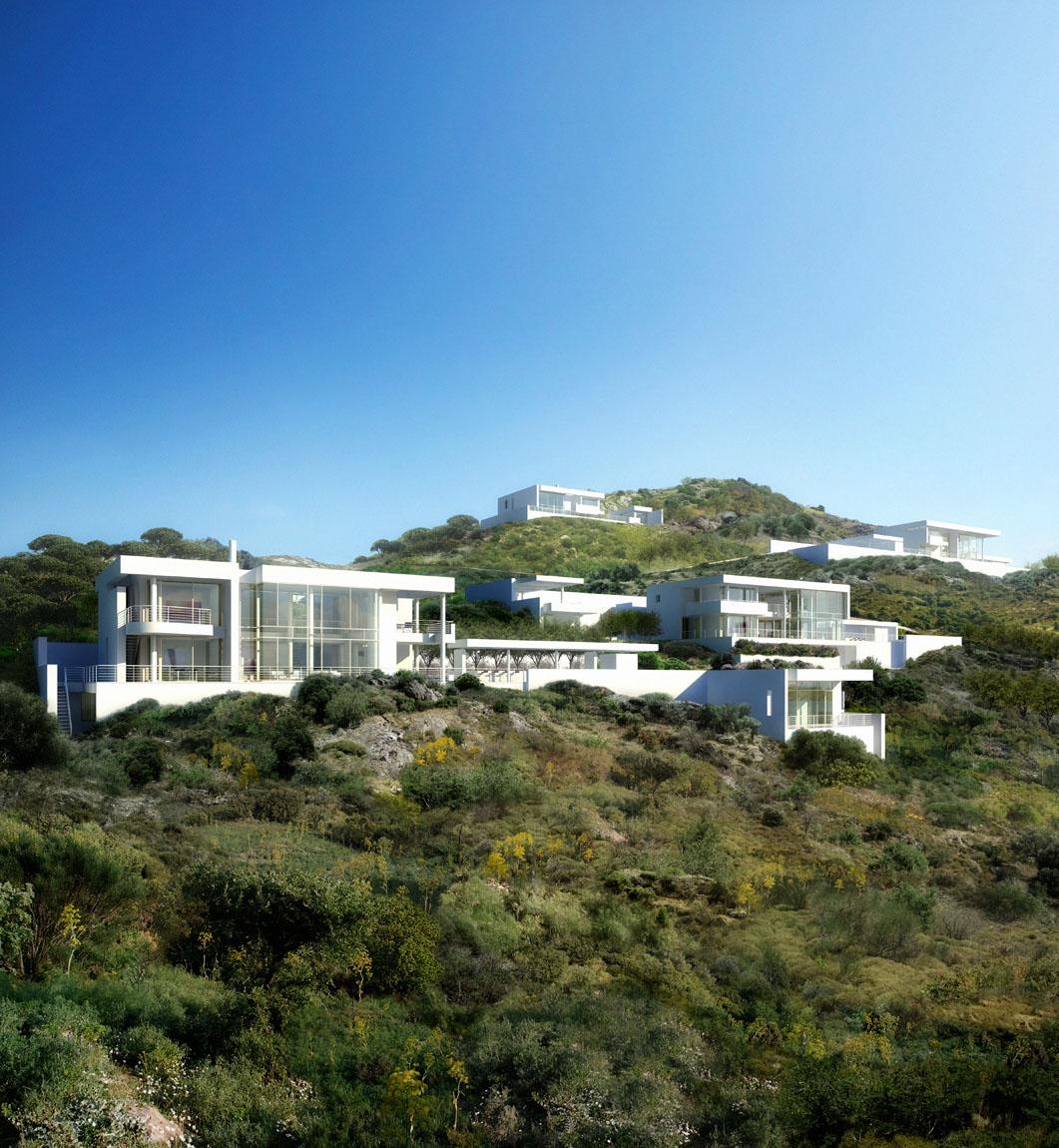 Hillside Houses In Bodrum Idesignarch Interior Design