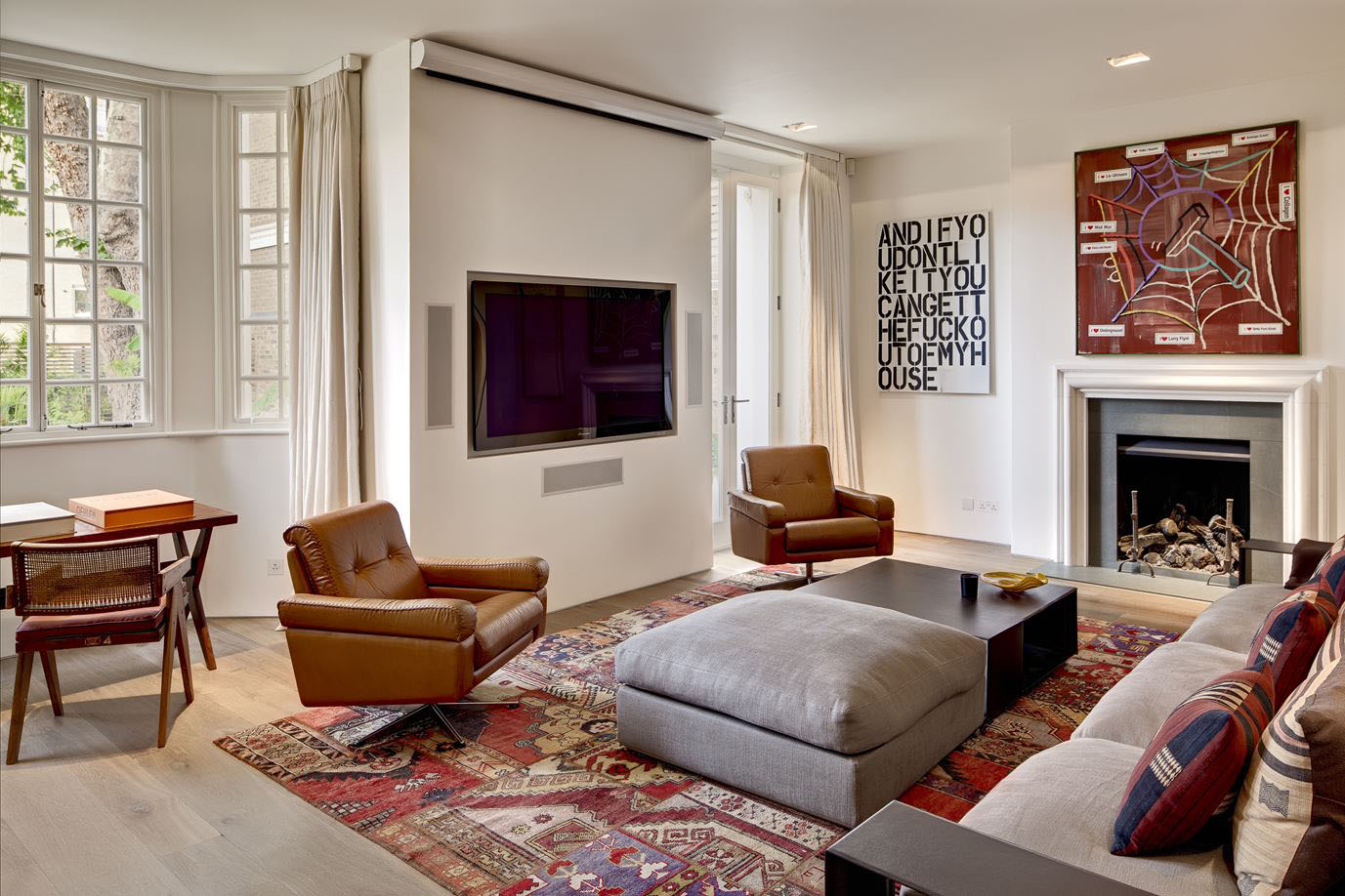 Spectacular Holland Park Avenue Home In London Idesignarch Interior Design Architecture