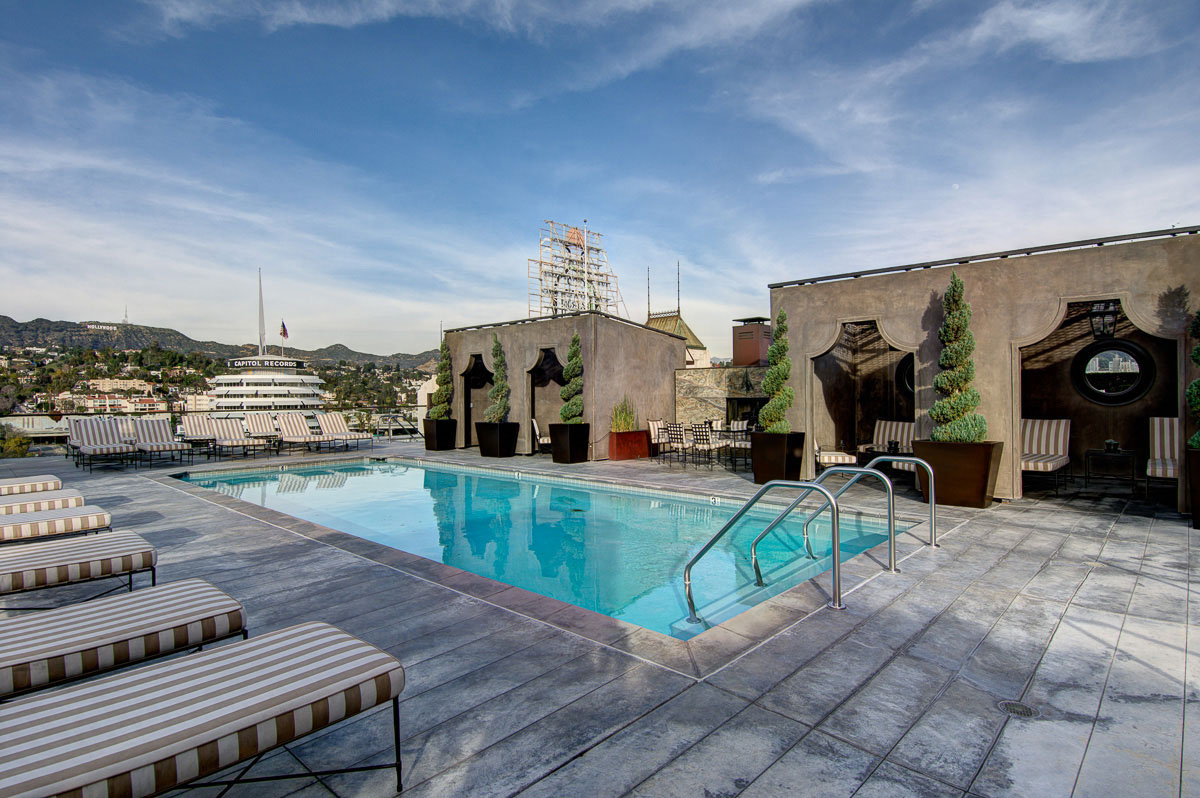 Hollywood Rooftop Swimming Pool
