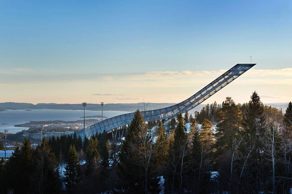 Holmenkollen Ski Jump Norway