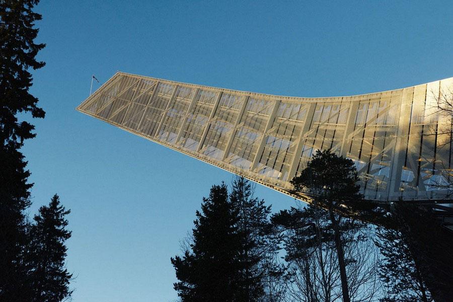 JDS Architects Holmenkollen Ski Jump
