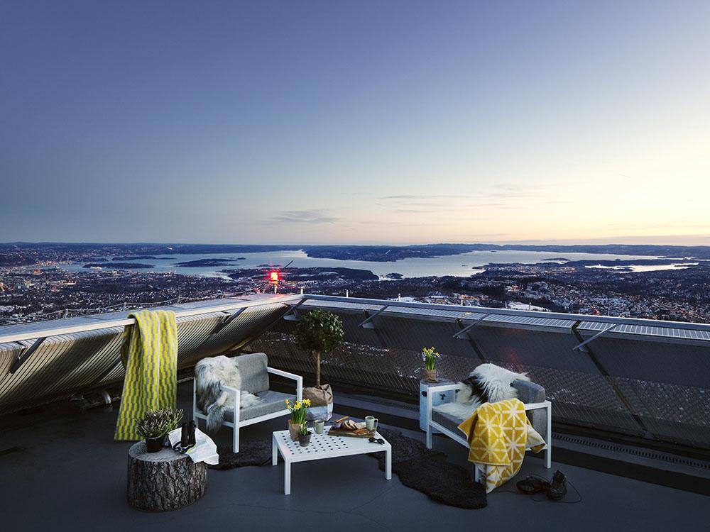 Oslo Penthouse Roof Terrace