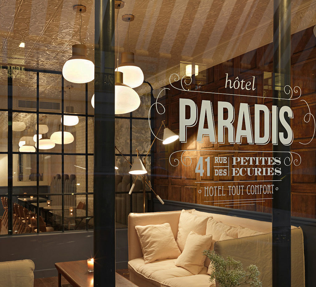 Hotel Paradis Paris Idesignarch Interior Design