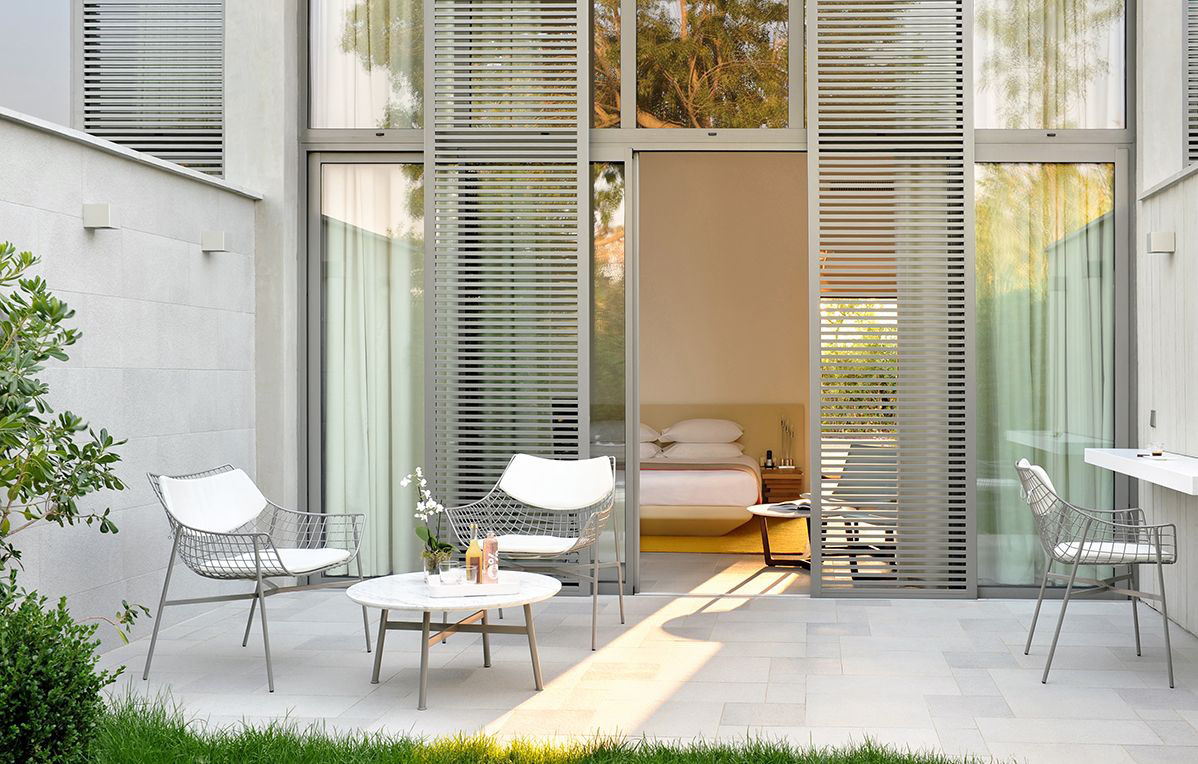 Hotel Sezz Saint Tropez Idesignarch Interior Design