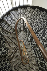 Chic Spiral Staircase
