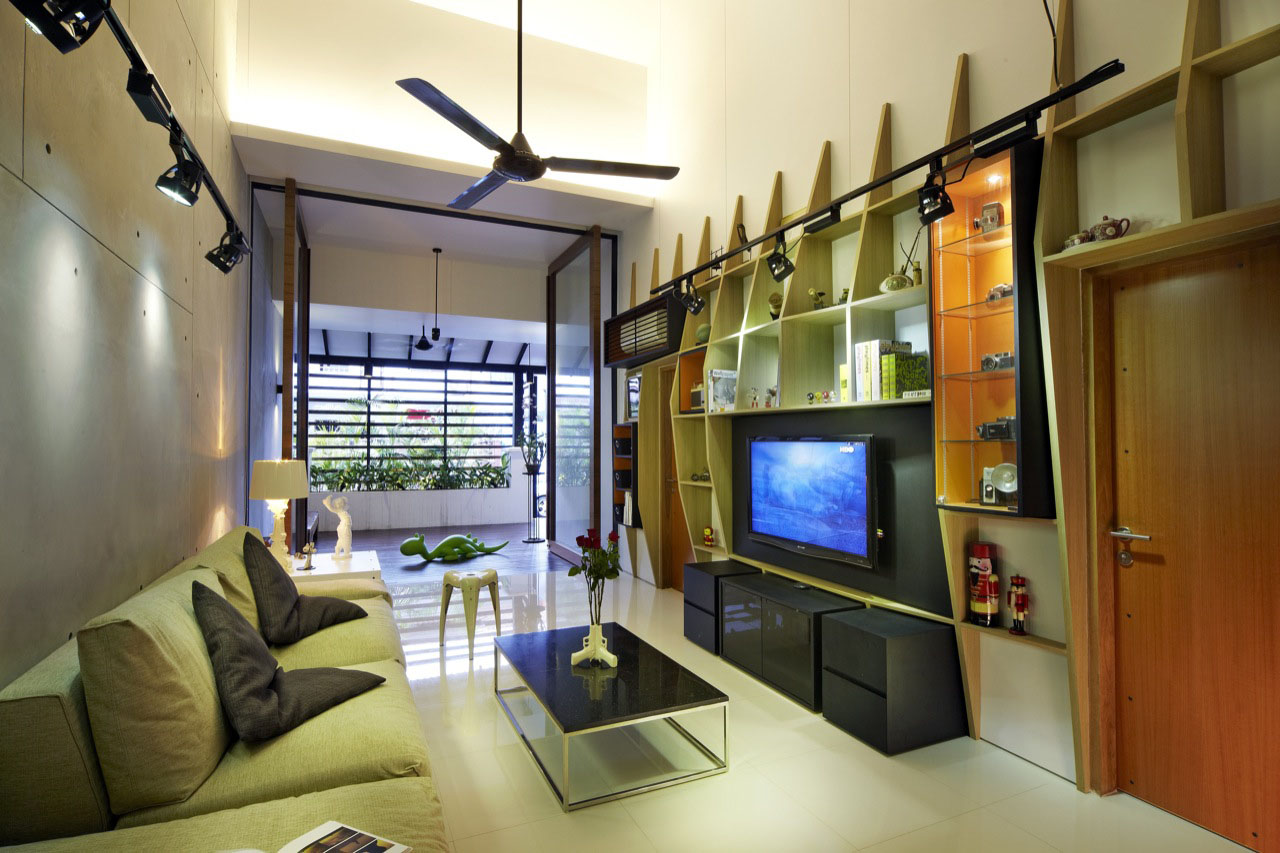House At Hillside Singapore 2 - 20+ Interior Small House Architecture Design Images