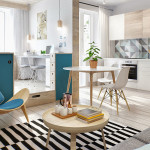 Moscow Studio Apartment With Smart Zoning Space