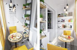 Balcony Cafe Table