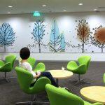 Fun Colours Provide Vibrant Office Interiors