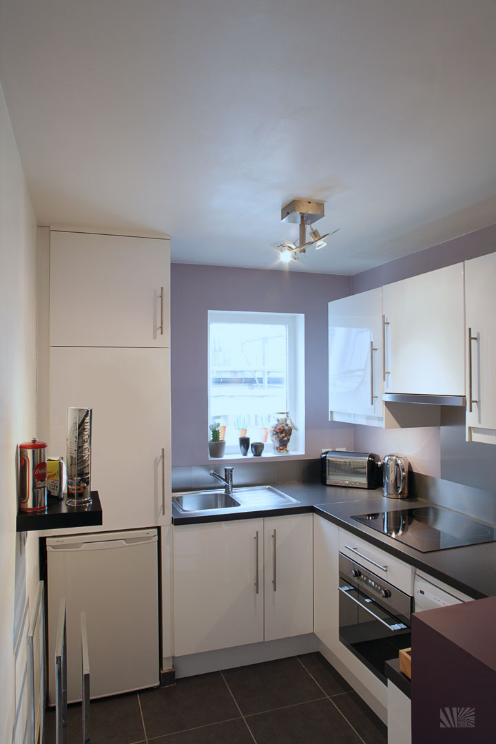 Modern-Purple-Kitchen