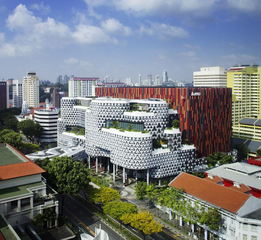 Iluma Retail Development In Singapore Idesignarch Interior