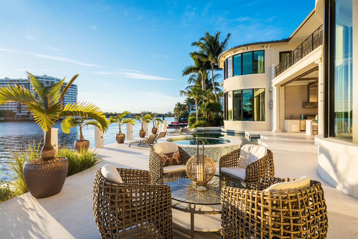10 Million Dollar Waterfront Estate In Boca Raton With