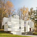 Irregular Shaped House Explores Ambiguous Modern Architecture