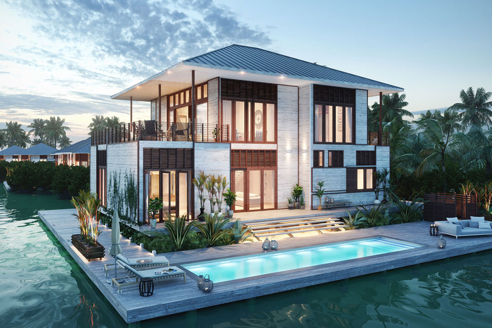 Itz Ana Resort Residences Beach Lagoon Villas Placencia