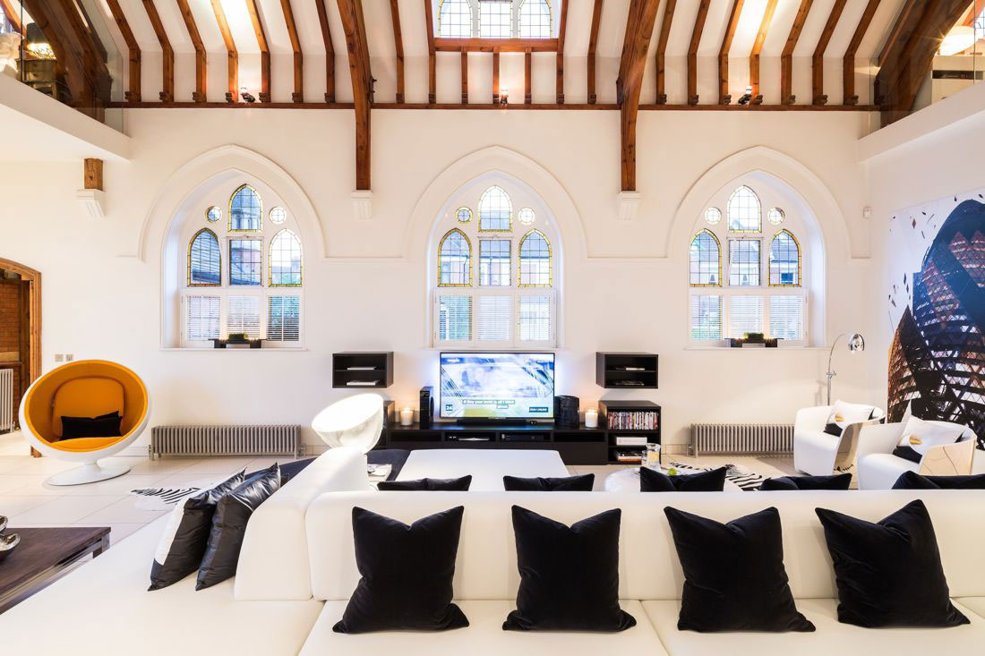 Victorian Church Conversion Luxury Home