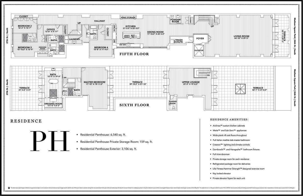 Jennifer Lopez S Madison Square Park Manhattan Penthouse