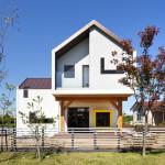 Modern T-Shaped House In South Korea
