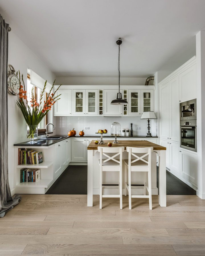 Kitchen Interior Timeless Architectural Kitchen: The Elegant Simplicity Of A Timeless Contemporary White