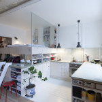 Inexpensive Studio Apartment Renovation With All-In-One Kitchen And Sleeping Loft