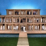 CHANEL Creates Eco-Friendly Minimalist Life-Size Doll House With A Zen Garden