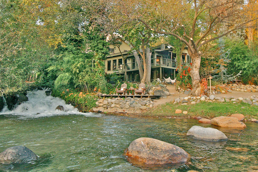 Country Home by the River