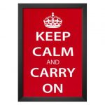 Keep Calm And Carry On Decor For Your Home